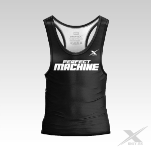 PERFECT MACHINE BLACK TANK TOP MĘSKI