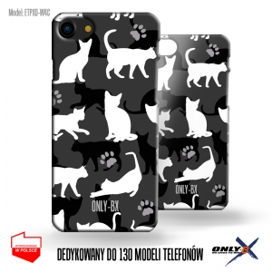 WHITE CAT ETUI CASE NA TELEFON KOTY